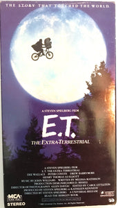 E.T. The Extraterrestrial On VHS