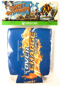 Sunset Overdrive drink koozie