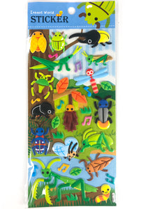 Insect World Puffy Stickers Mantis