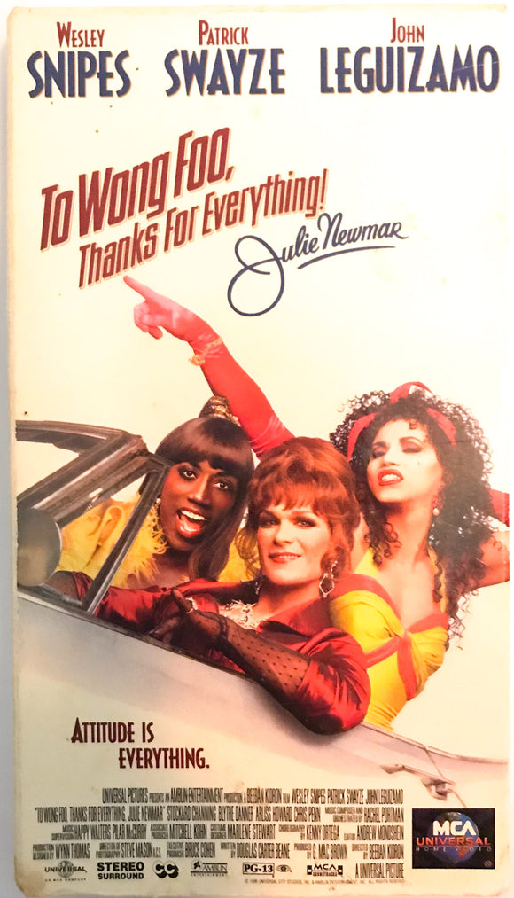 To Wong Foo, Thanks for Everything! Julie Newmar on VHS