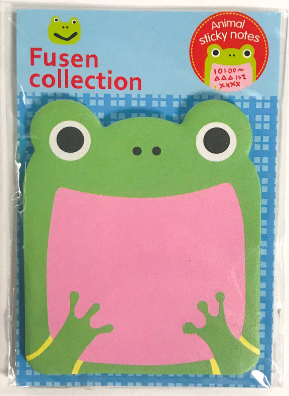 Animal Sticky Notes Frog