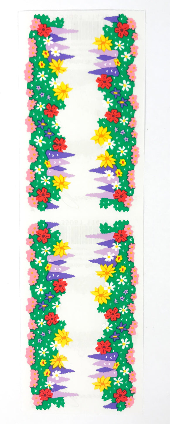 Mrs. Grossman's Stickers Garden Border 1995