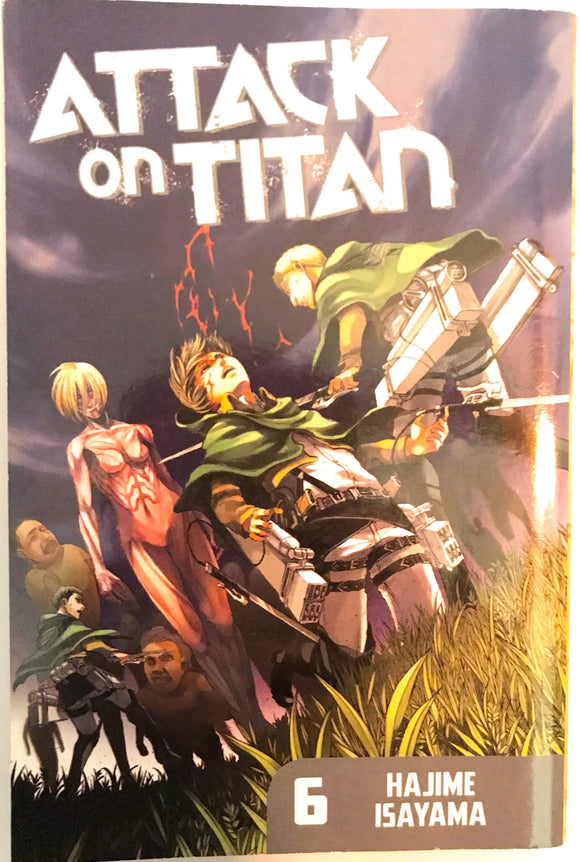 Attack on Titan 6 Graphic Novel