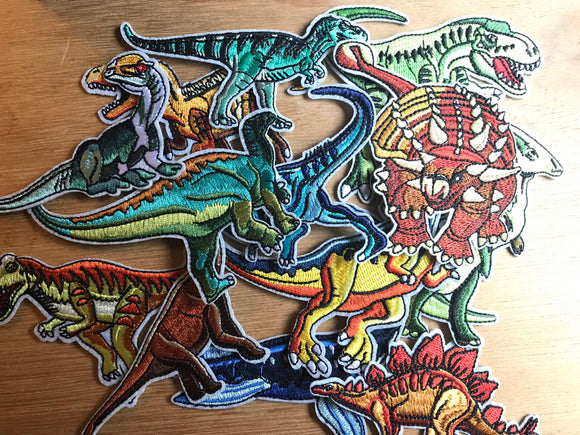 Lot of 13 Dinosaur Patches