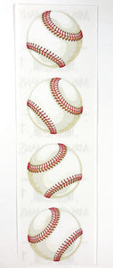Mrs. Grossman's Stickers Embossed Baseballs 2003