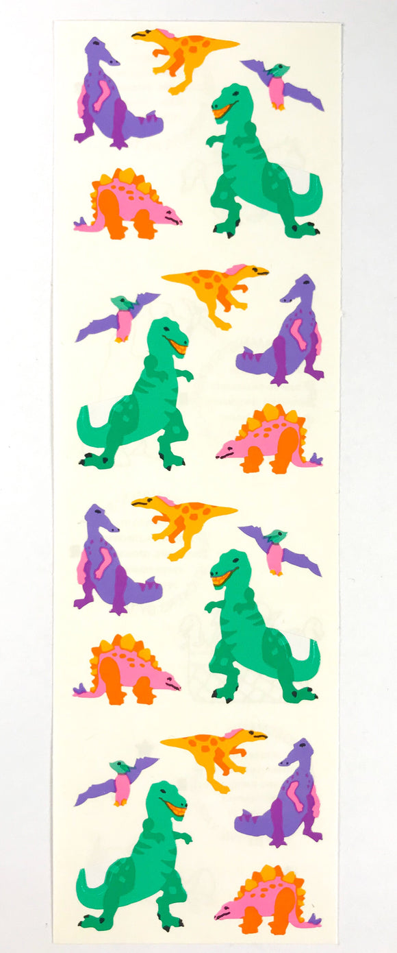 Mrs. Grossman's Stickers Dinosaurs 1993