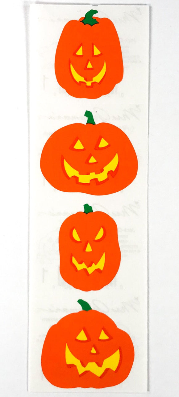 Mrs. Grossman's Stickers Jack-O-Lantern 1995