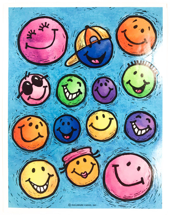 Vintage Smile Sticker Sheet