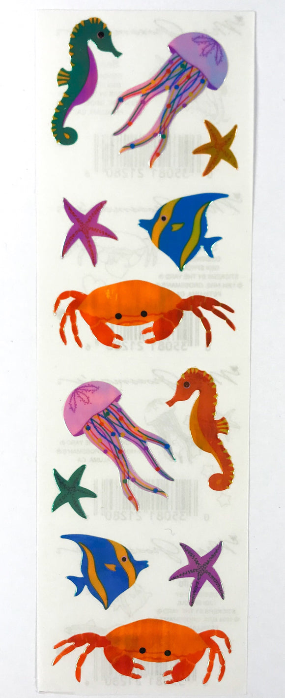 Mrs. Grossman's Stickers Sealife 1994