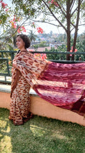 Load image into Gallery viewer, Summer Afternoon  - Tussar silk Shibori saree