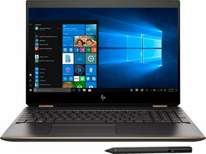 HP SPECTRE X360 15-DF1033DX | INTEL CORE i7(10TH GEN) | 16GB RAM | 32GB OPTANE MEMORY+512GB SSD | 2GB NVIDIA GeForce MX250 | 15.6 15.6-inch 4K DISPLAY | TOUCHSCREEN | WIN 10
