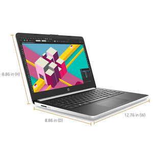 HP NOTEBOOK 14-DQ1037WM | INTEL CORE I5 (10 GEN) | 4GB RAM | 128GB SSD | 14 HD DISPLAY | SILVER | WIN 10