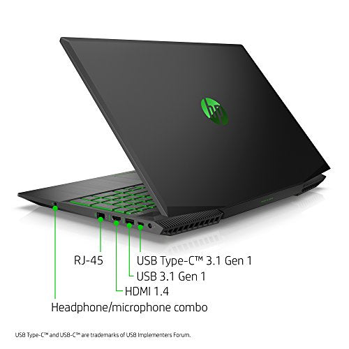 HP 15-CX0042 GAMING LAPTOP | INTEL CORE I7(8TH GEN) | 16GB RAM | 1TB HDD+128GB SSD | NVIDIA GEFORCE 1050TI | BACKLITE KEYBOARD