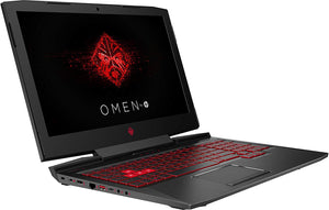 HP OMEN 15-CE198WM | I7(8TH Gen) | 16Gb Ram | 1Tb Hdd | 256 SSD | 15.6″ FHD Display | NVIDIA GeForce GTX 1060 Graphics | Backlit Keyboard | Win 10 | Black