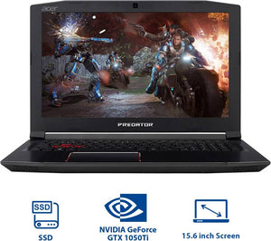 ACER PREDATOR HELIOS | GAMING LAPTOP | INTEL CORE i5(8TH GEN) | 8GB RAM | 1TB HDD+128GB SSS | 4GB NVIDIA Geforce GTX 1050Ti | WIN 10