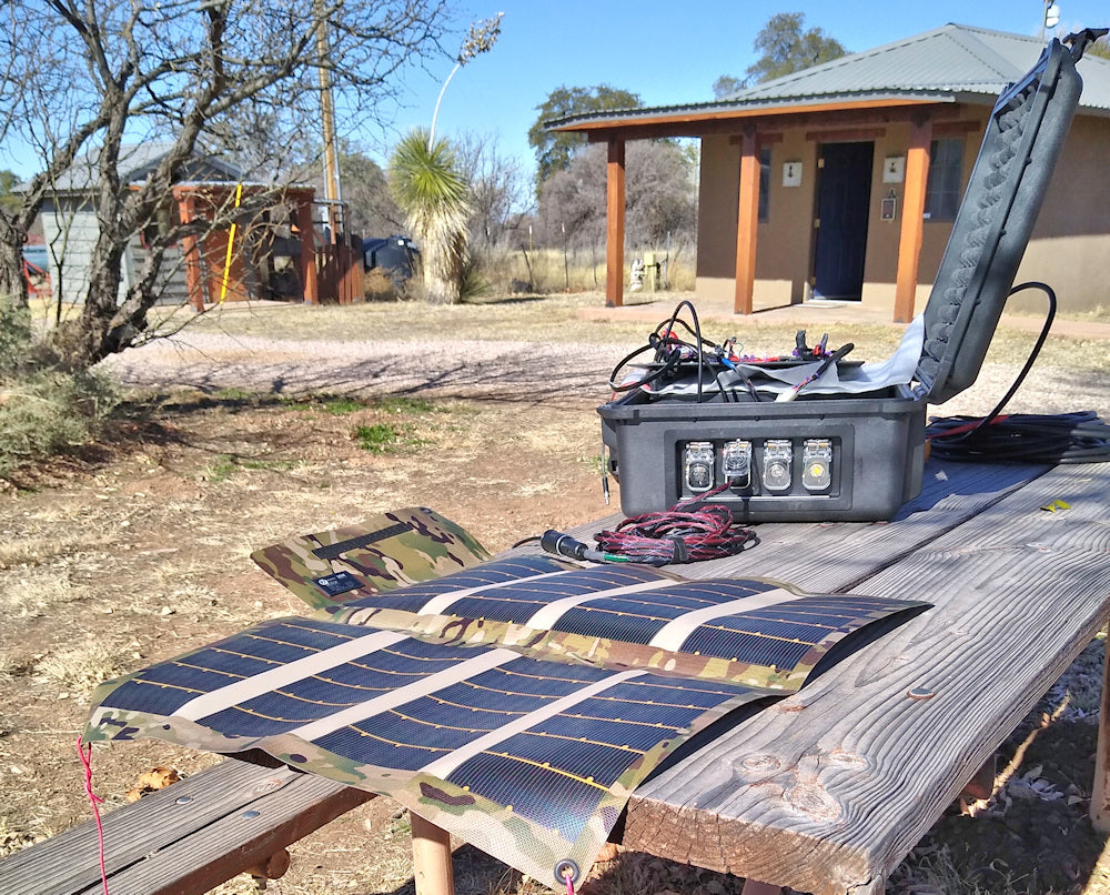 Solar panel for satphone MCOM1 i75 Iridium flyaway kits
