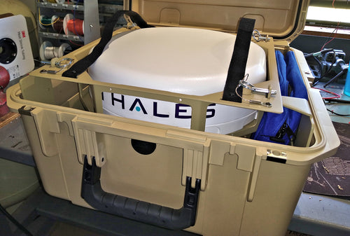 MCOM1 M2 Flyaway kit for Thales Iridium MissionLINK 700