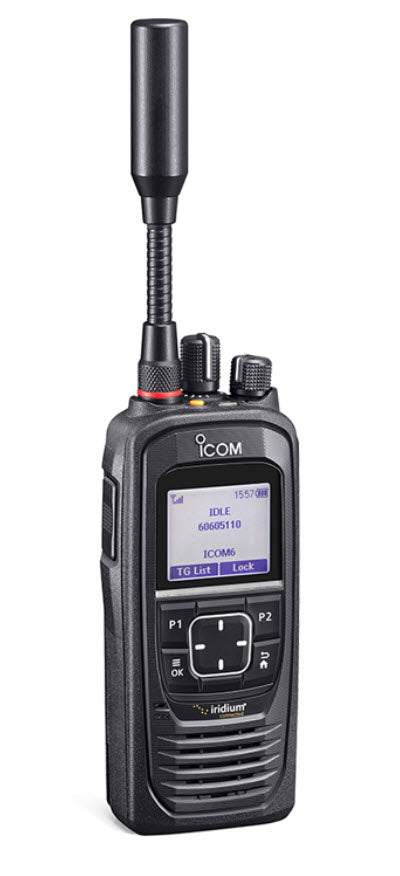 Icom IC-SAT100 Iridium PTT Radio