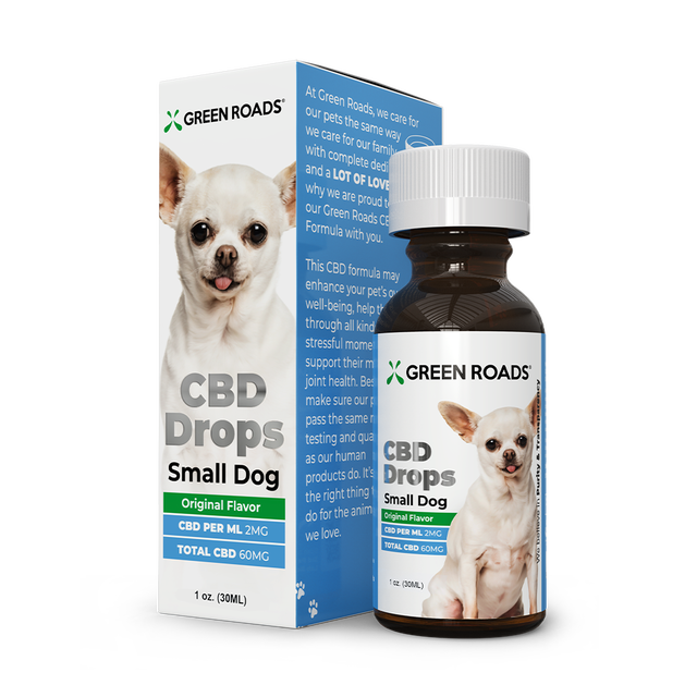 Green Roads CBD Drops for Dogs