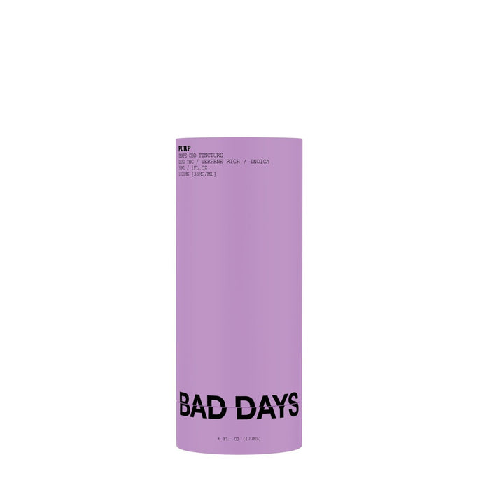 Bad Days Purp Tincture - 500mg