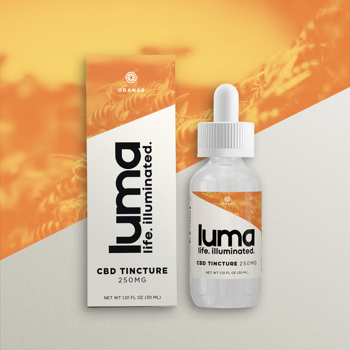 CBD Tincture 250 MG - Orange