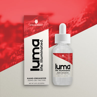 CBD Tincture 250 MG - Strawberry