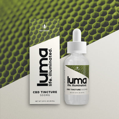 CBD Tincture 500 MG - Natural