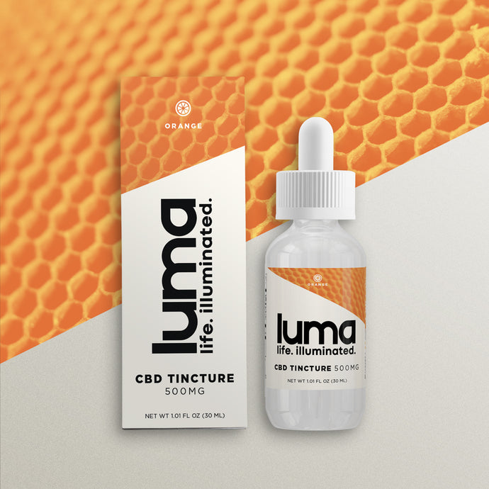 CBD Tincture 500 MG - Orange