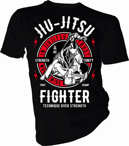 Jiu Jitsu Fighter T-Shirt
