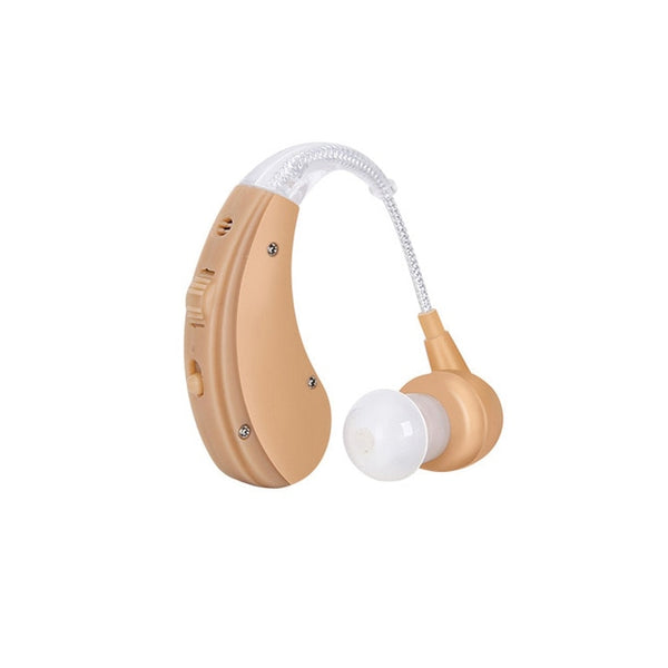 Behind The Ear Personal Sound Amplifier With Charging Point and Adjustable Sound Frequency