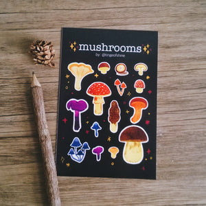 Mushrooms Stickers