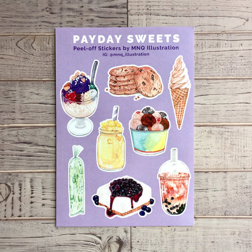 Payday Sweets Stickers