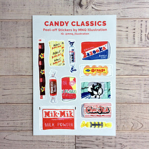 Candy Classics Stickers