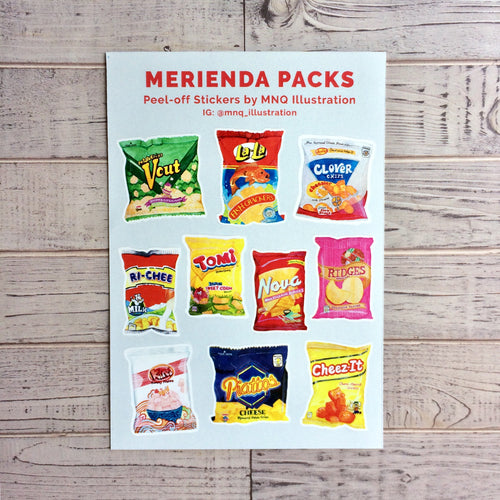 Merienda Packs Stickers