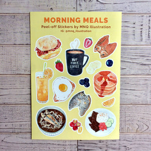 Morning Meals Stickers
