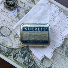 Load image into Gallery viewer, Vintage Sucrets Lozenges Tin Travel Palette