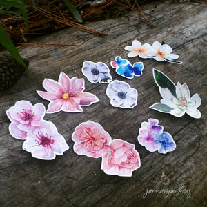 Flower Sticker Set 2