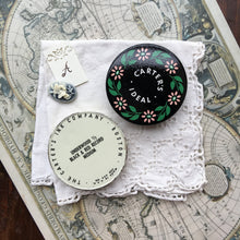 Load image into Gallery viewer, Vintage Carter's Ideal Round Typewriter Ribbon Travel Palette