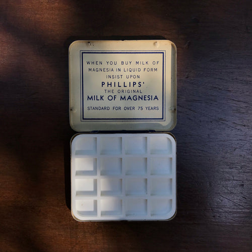 Vintage Phillips Milk of Magnesia Travel Palette