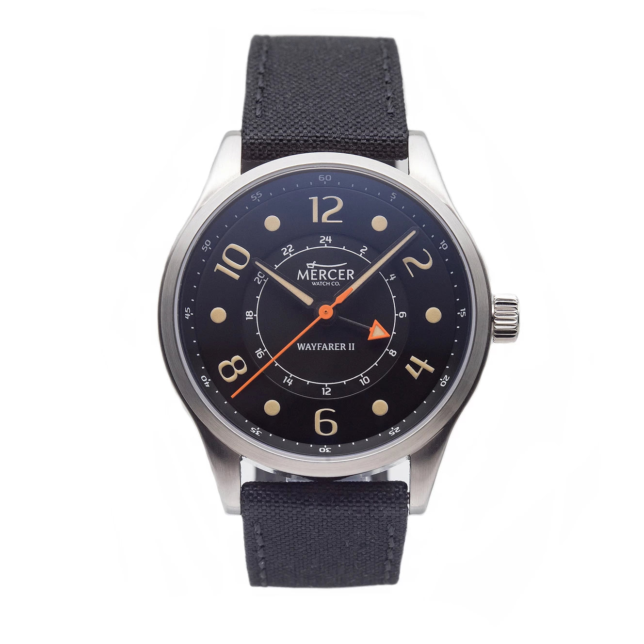 Wayfarer II GMT - black