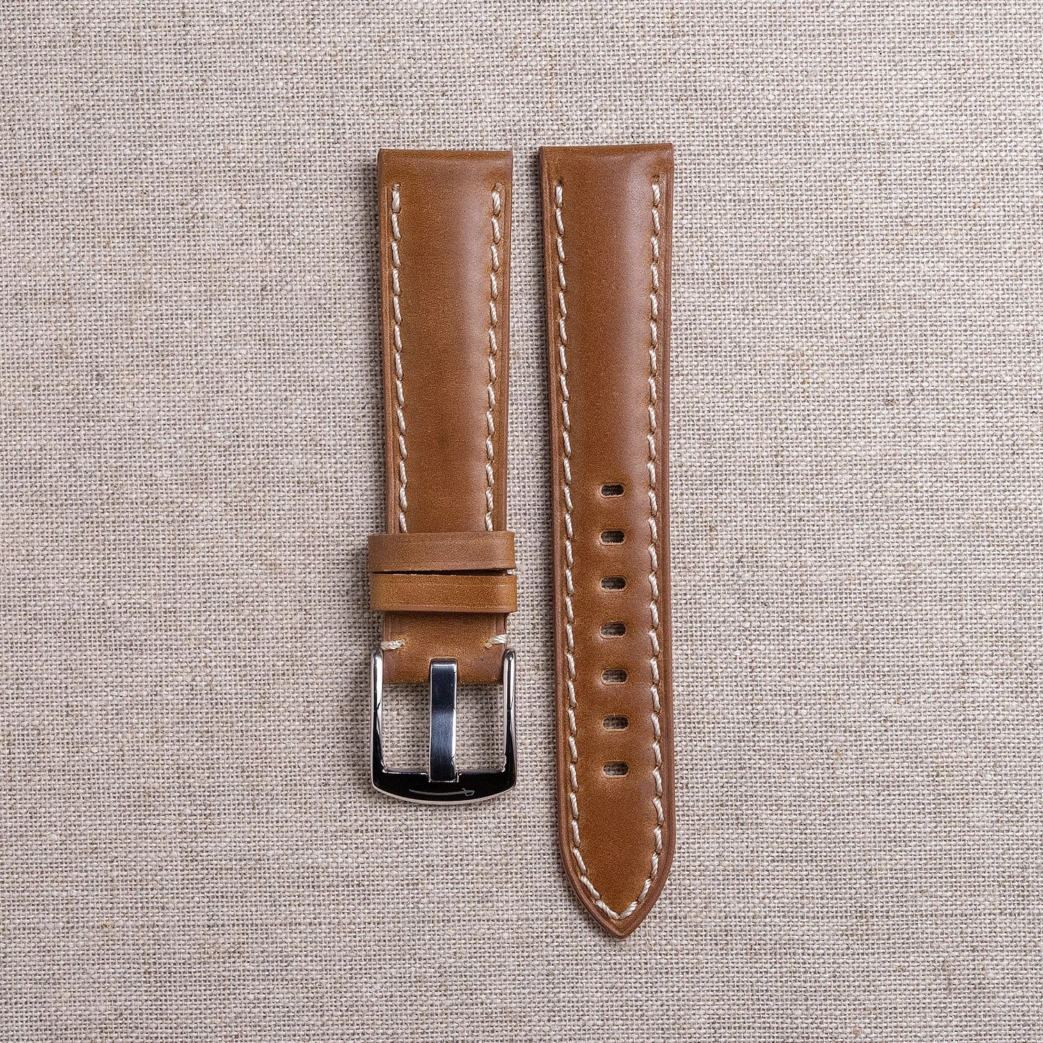 Lined Shell Cordovan Straps