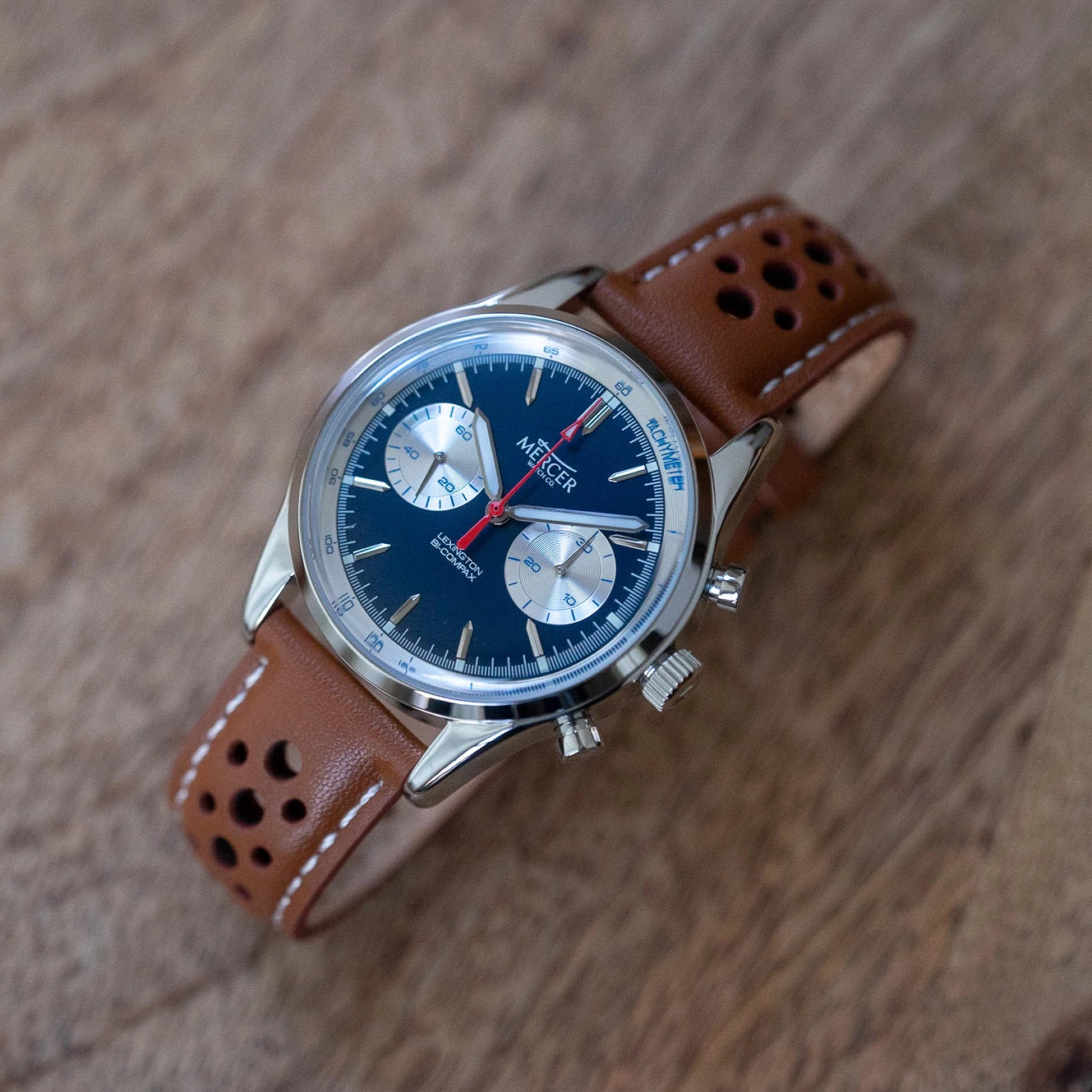 Lexington chronograph - indigo/silver