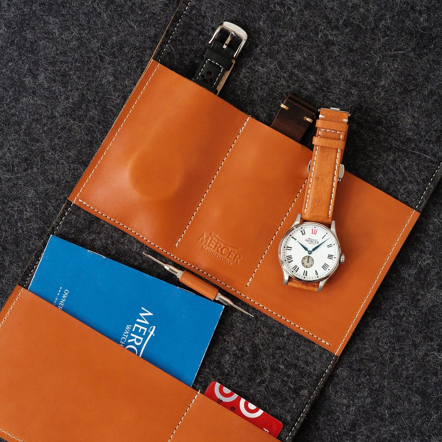 Traveller watch wallet