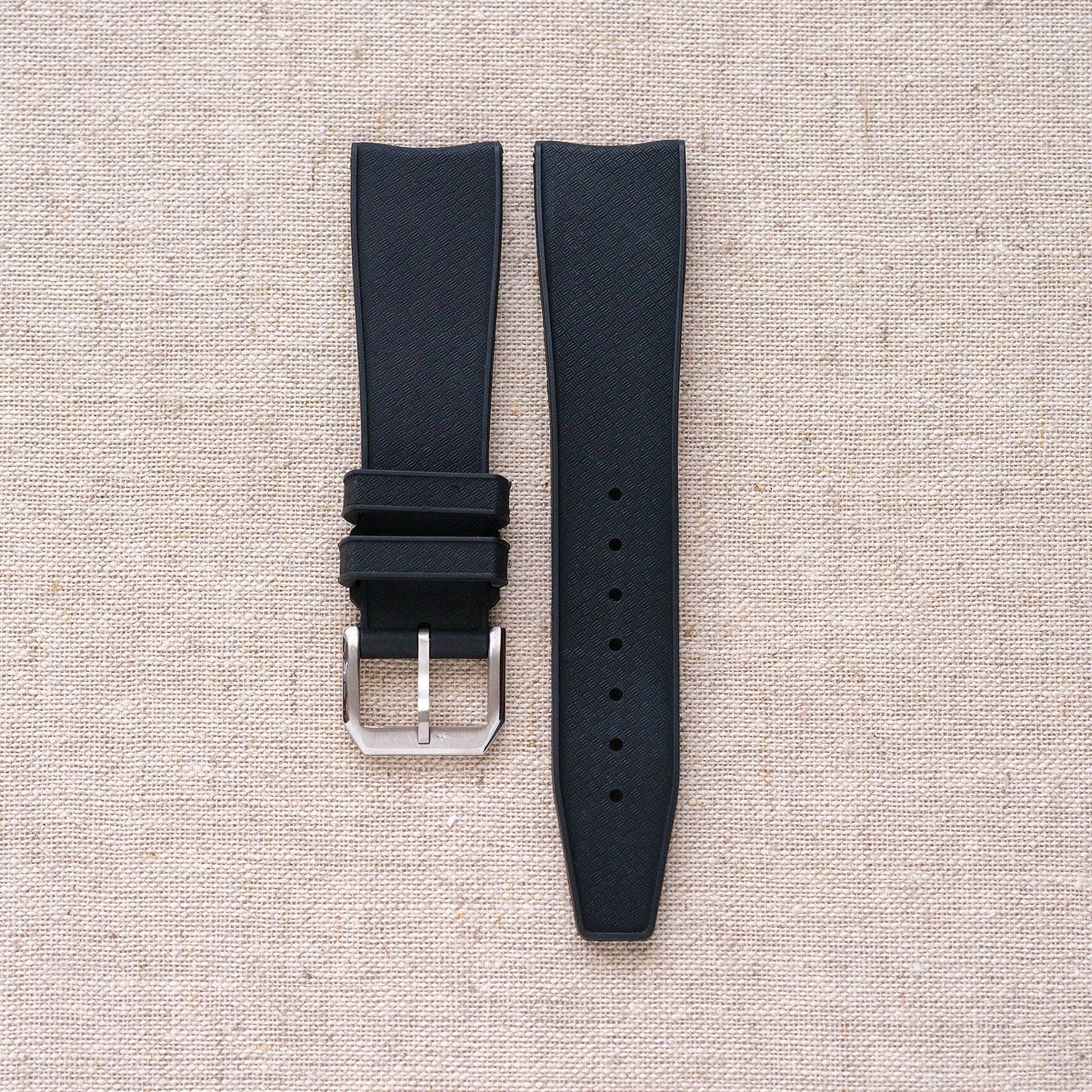 Rubber tropic strap