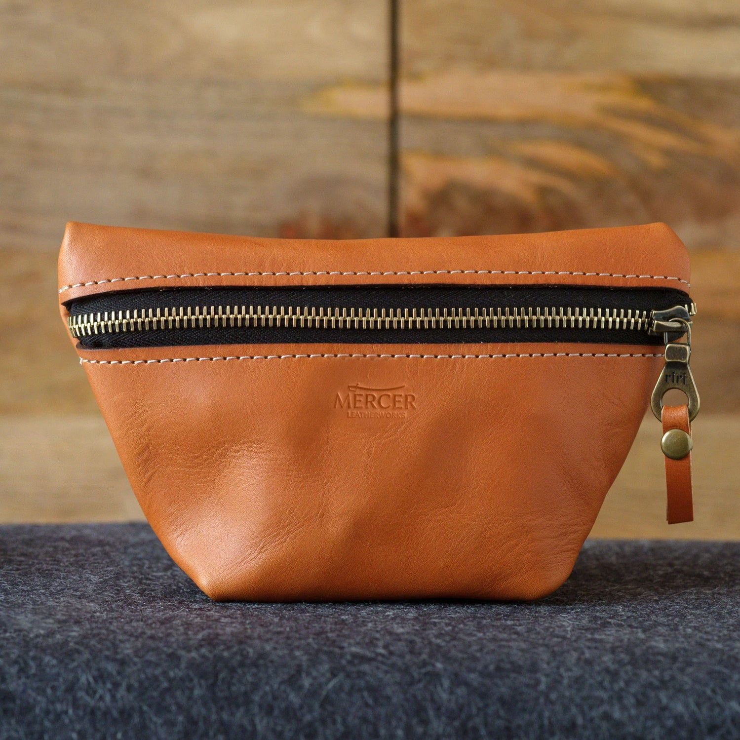 Bristol leather tote