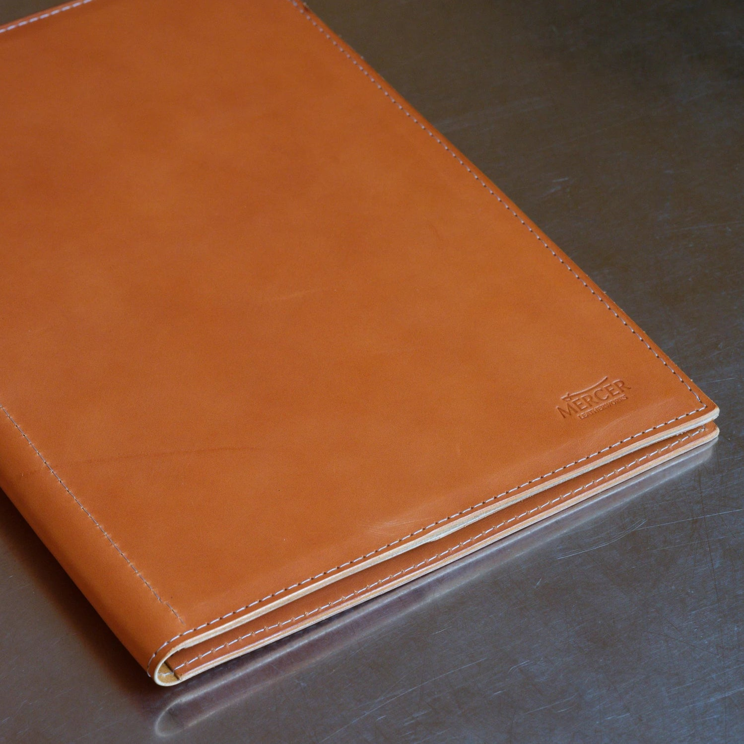 Carter leather folio