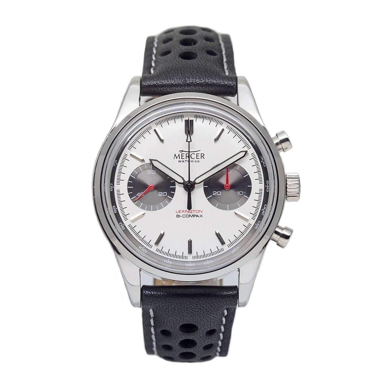 Lexington chronograph - white/ash