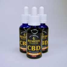Load image into Gallery viewer, Remedy CBD Oil - Mango