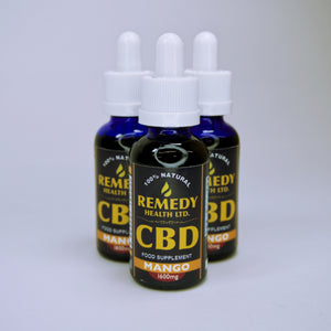 Remedy CBD Oil - Mango