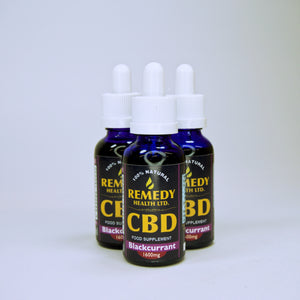 Remedy CBD Oil - Blackcurrent